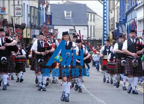 爱尔兰风俗人文  移民爱尔兰