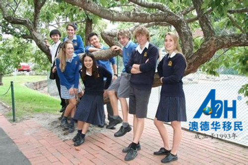 带你看看澳洲的中学 澳洲移民